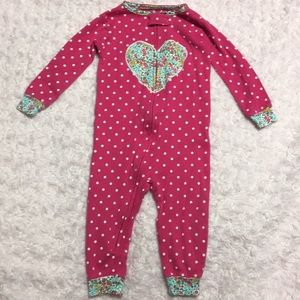 Carters floral heart one piece 12 months
